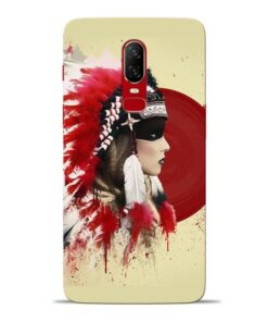 Red Cap Oneplus 6 Mobile Cover