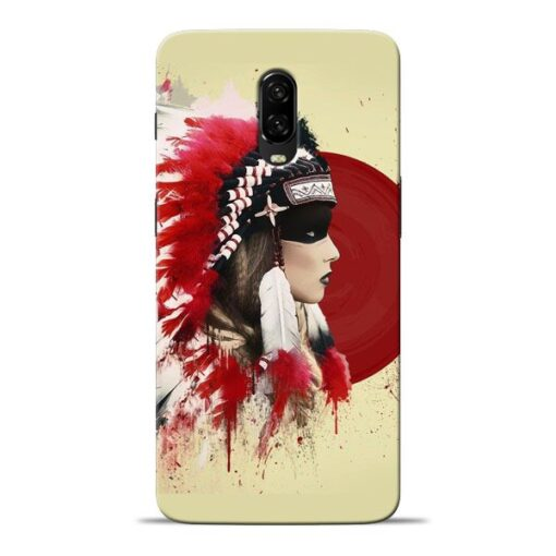 Red Cap Oneplus 6T Mobile Cover