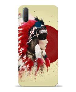 Red Cap Vivo Y17 Mobile Cover