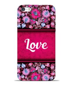 Red Love Apple iPhone 5s Mobile Cover