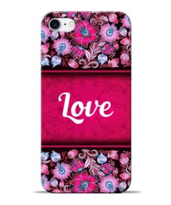 Red Love Apple iPhone 7 Mobile Cover