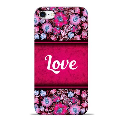 Red Love Apple iPhone 8 Mobile Cover