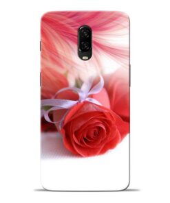 Red Rose Oneplus 6T Mobile Cover