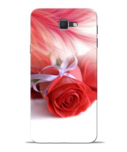 Red Rose Samsung J7 Prime Mobile Cover