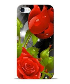 Rose Flower Apple iPhone 8 Mobile Cover