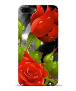 Rose Flower Apple iPhone 8 Plus Mobile Cover