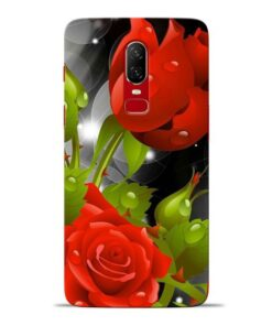 Rose Flower Oneplus 6 Mobile Cover