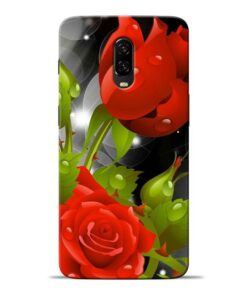 Rose Flower Oneplus 6T Mobile Cover