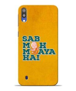 Sab Moh Maya Samsung M10 Mobile Cover