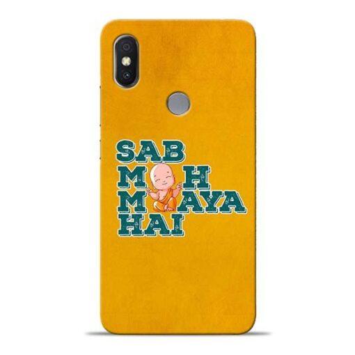 Sab Moh Maya Xiaomi Redmi Y2 Mobile Cover