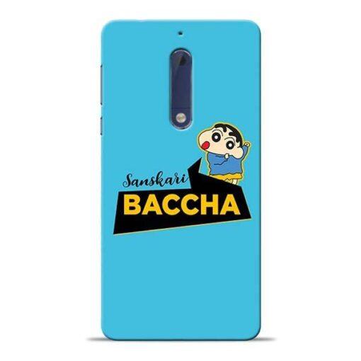 Sanskari Baccha Nokia 5 Mobile Cover