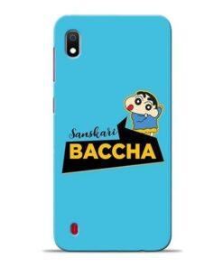 Sanskari Baccha Samsung A10 Mobile Cover