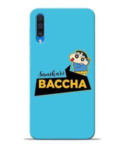 Sanskari Baccha Samsung A50 Mobile Cover