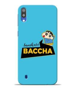 Sanskari Baccha Samsung M10 Mobile Cover