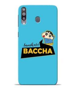 Sanskari Baccha Samsung M30 Mobile Cover