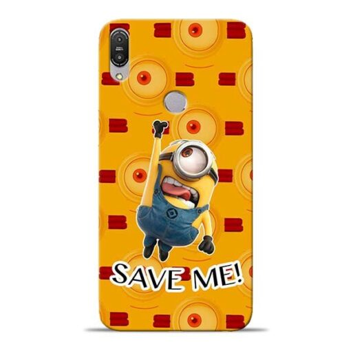 Save Minion Asus Zenfone Max Pro M1 Mobile Cover