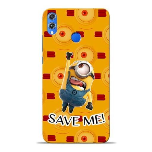 Save Minion Honor 8X Mobile Cover