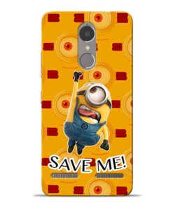 Save Minion Lenovo K6 Power Mobile Cover