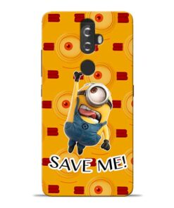 Save Minion Lenovo K8 Plus Mobile Cover