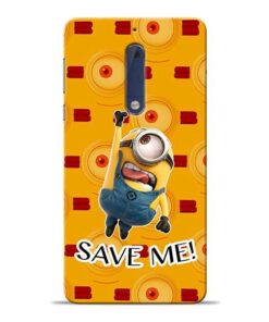Save Minion Nokia 5 Mobile Cover
