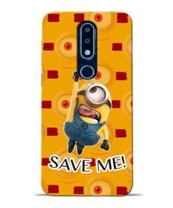 Save Minion Nokia 6.1 Plus Mobile Cover