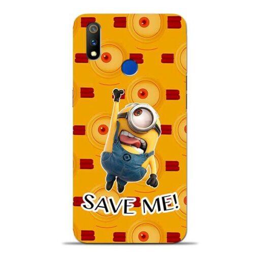 Save Minion Oppo Realme 3 Pro Mobile Cover