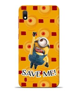 Save Minion Samsung A10 Mobile Cover