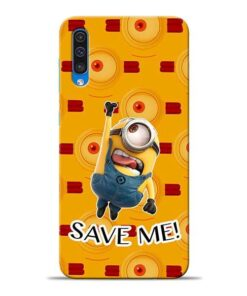 Save Minion Samsung A50 Mobile Cover