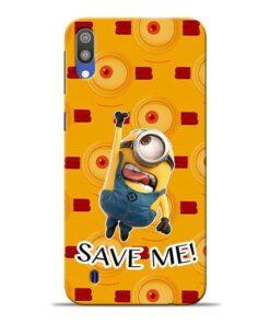 Save Minion Samsung M10 Mobile Cover