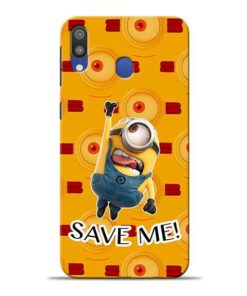 Save Minion Samsung M20 Mobile Cover