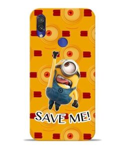 Save Minion Xiaomi Redmi Note 7 Mobile Cover