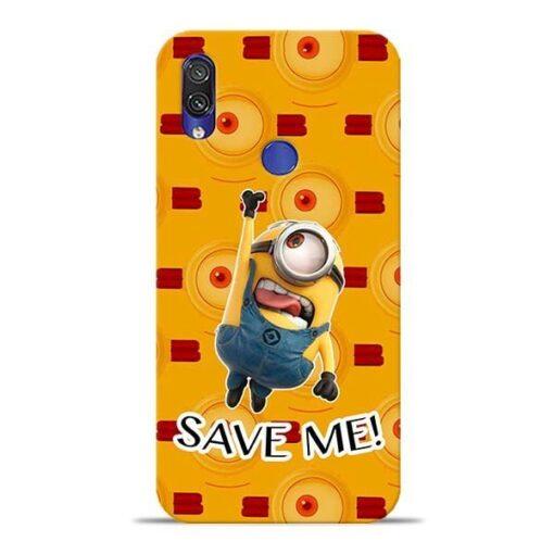 Save Minion Xiaomi Redmi Note 7 Mobile Cover