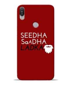 Seedha Sadha Ladka Asus Zenfone Max Pro M1 Mobile Cover