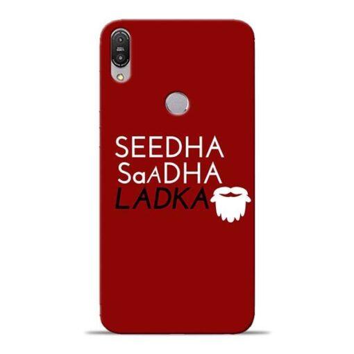 Seedha Sadha Ladka Asus Zenfone Max Pro M1 Mobile Cover