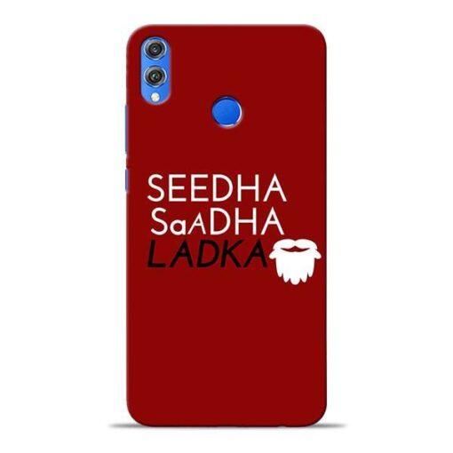 Seedha Sadha Ladka Honor 8X Mobile Cover