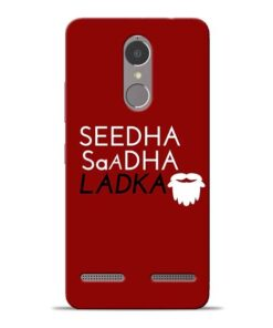Seedha Sadha Ladka Lenovo K6 Power Mobile Cover