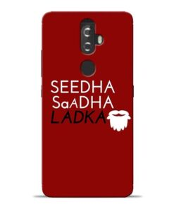 Seedha Sadha Ladka Lenovo K8 Plus Mobile Cover