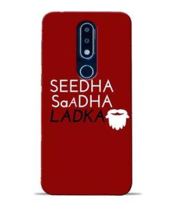 Seedha Sadha Ladka Nokia 6.1 Plus Mobile Cover