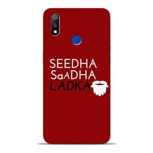 Seedha Sadha Ladka Oppo Realme 3 Pro Mobile Cover
