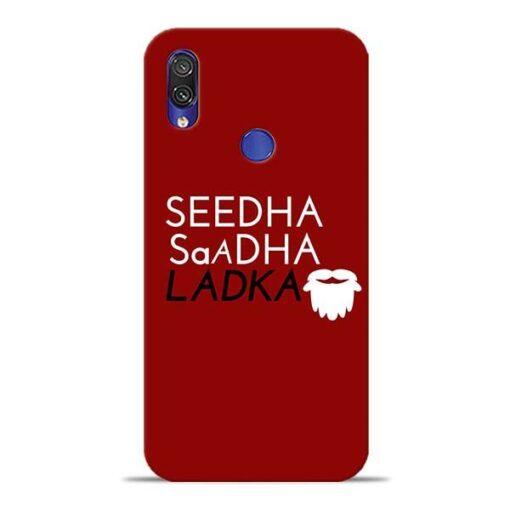 Seedha Sadha Ladka Xiaomi Redmi Note 7 Pro Mobile Cover