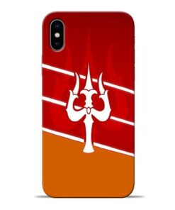 Shiva Trishul Apple iPhone X Mobile Cover