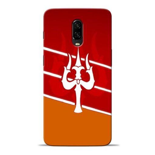 Shiva Trishul Oneplus 6T Mobile Cover