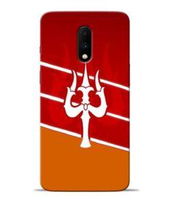 Shiva Trishul Oneplus 7 Mobile Cover
