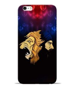Singh Lion Apple iPhone 6s Mobile Cover