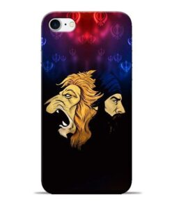Singh Lion Apple iPhone 8 Mobile Cover