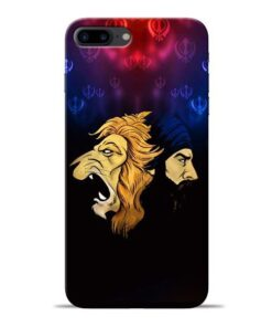 Singh Lion Apple iPhone 8 Plus Mobile Cover