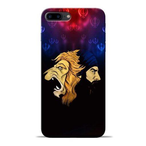 Singh Lion Apple iPhone 8 Plus Mobile Cover