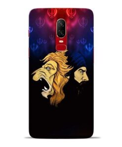 Singh Lion Oneplus 6 Mobile Cover