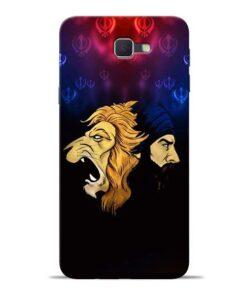 Singh Lion Samsung J7 Prime Mobile Cover