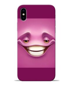 Smiley Danger Apple iPhone X Mobile Cover